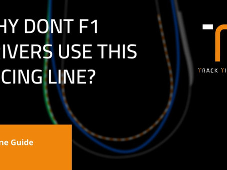 Why don't F1 drivers use this racing line which is usually faster? | V-Line Guide