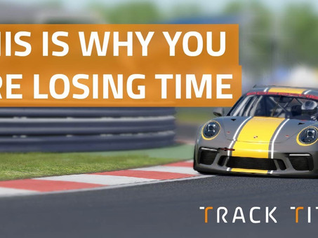 The reason most amateur drivers lose time around corners