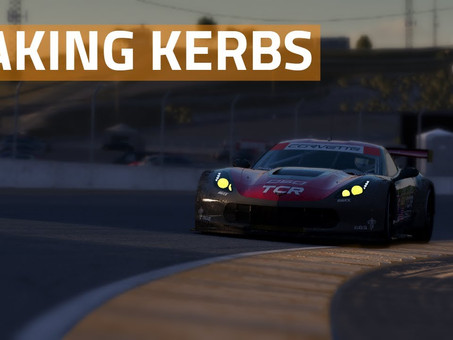 Taking kerbs in simracing - which to take, and which to avoid.