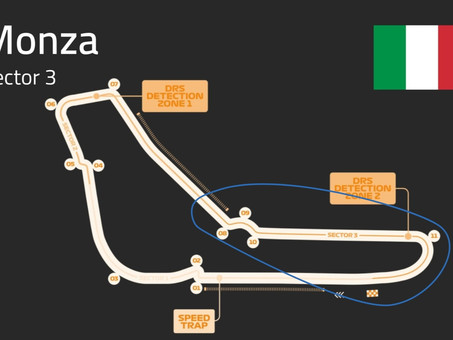 Monza Track Guide   Sector 3