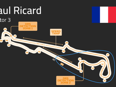 Paul Ricard Track Guide   Sector 3