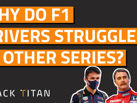 Why do F1 drivers often struggle in other championships?