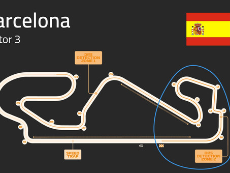Barcelona Track Guide   Sector 3