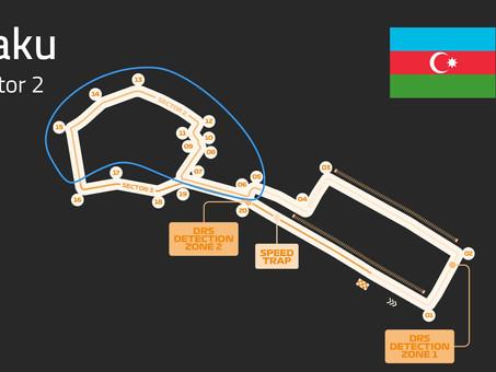 Baku Track Guide | Sector 2