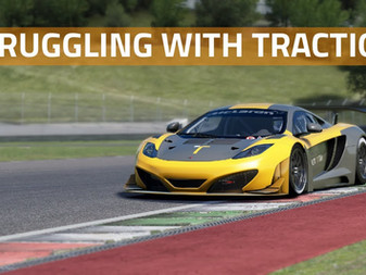 What you should do if you are struggling with traction?   Simracing guide
