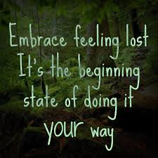 Embrace Feeling Lost