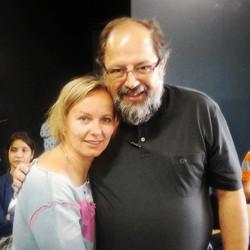 con Celso Vasconcellos