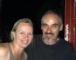 con Pedro García Olivo