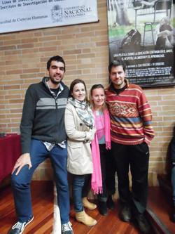 con German Doin y Franco Iacomella de Educación Prohibida