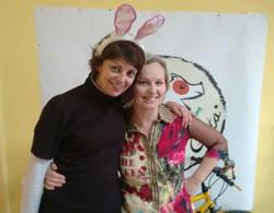 con Marta Cedres de la Alegría de Greta
