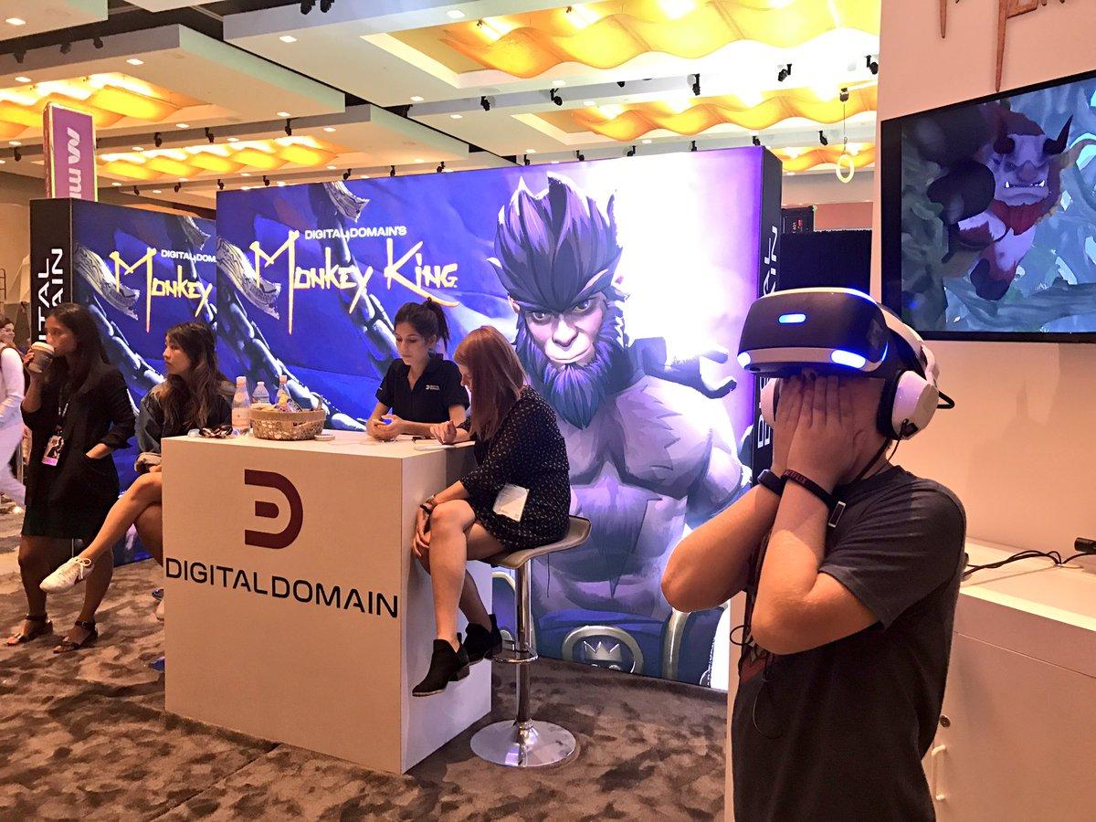 Monkey King VR debut!