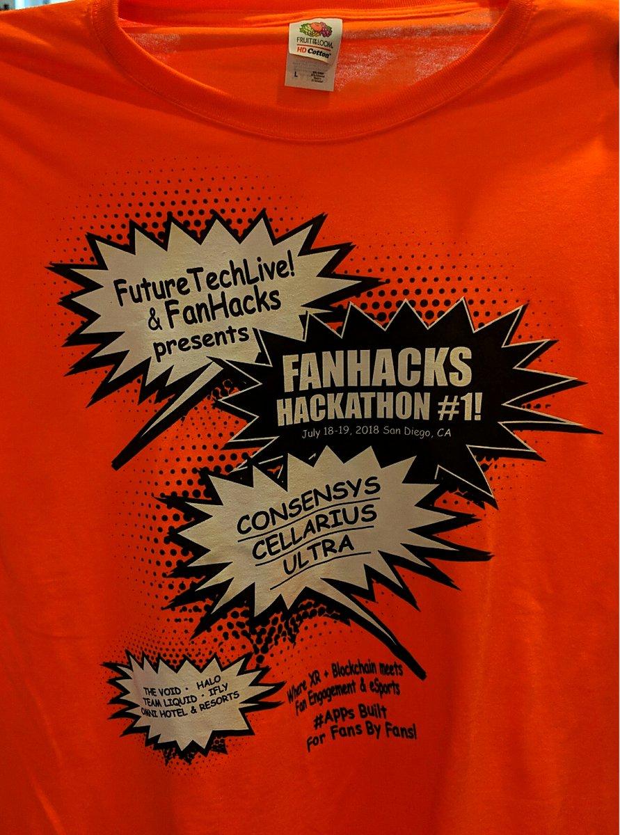 1st Annual Hackathon Shirt