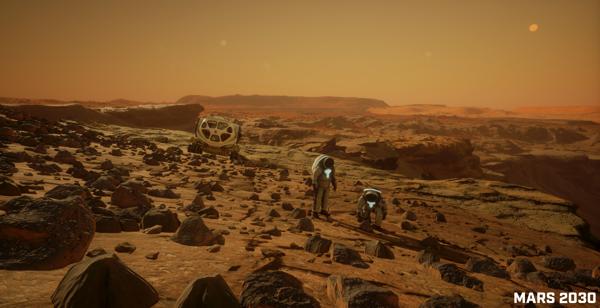 Exploring Mars in VR!