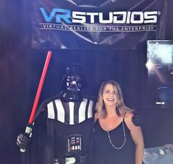 Vader is a tech geek!