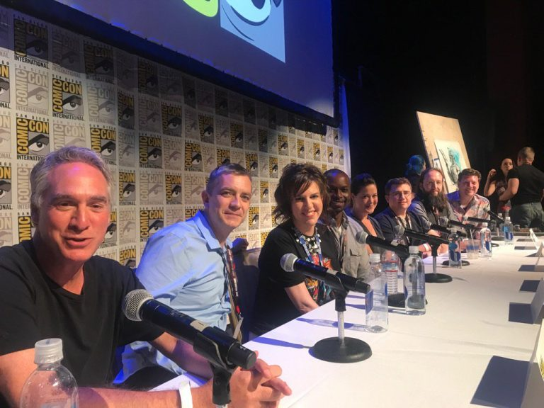 World Creators Panel SDCC 2017