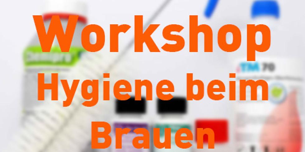 Workshop Hygiene beim Brauen