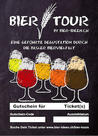 Bier-Tour Gutschein