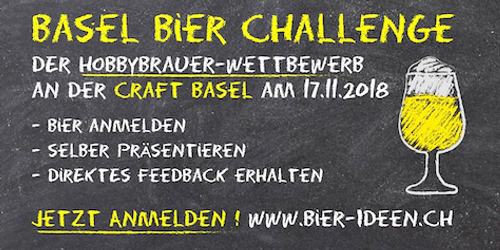 Basel Bier Challenge. Bieranmeldung
