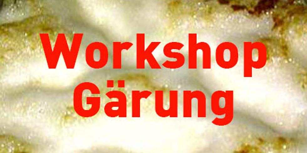 Workshop Gärung