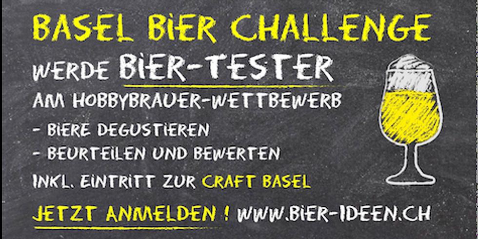 Basel Bier Challenge. Bier-Tester inkl. Eintritt Craft Basel