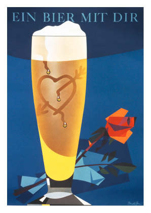 Bierplakat 1959, Grafik: Donald Brun