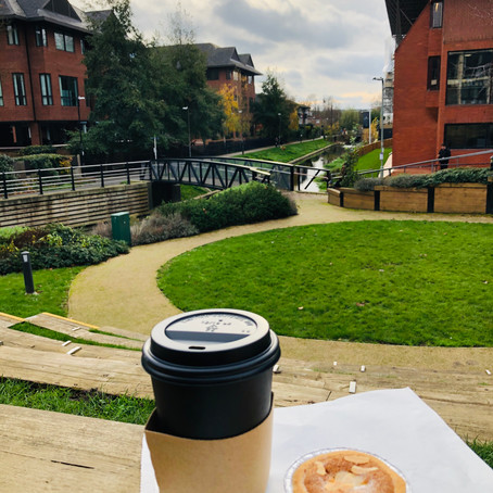PIE & THE SKY: Coffee shops might be take-away only, but all is not lost!