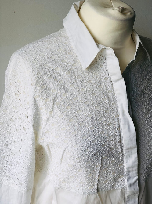 Reiss lace shirt