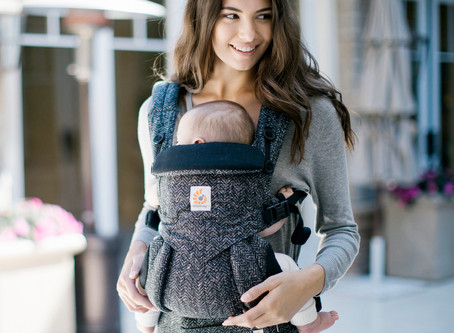 Walk this way! The benefits of baby-wearing