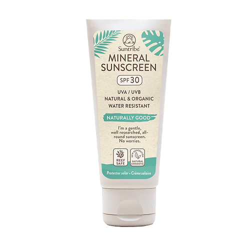 Suntribe All Natural Mineral Body & Face Sunscreen SPF30