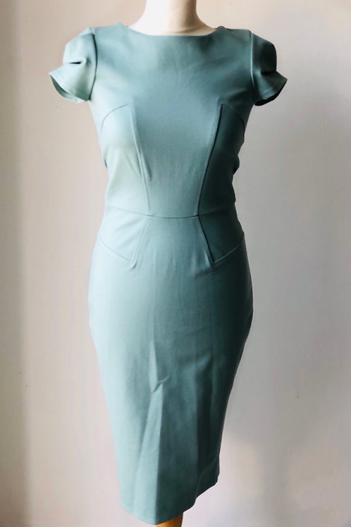 Mint pencil dress