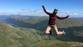 'It's hard to convey the power and the enormity of standing on top of a mountain'