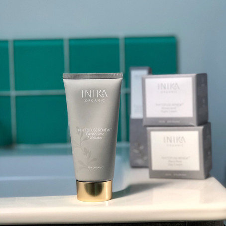 BEAUTY REVIEW: Inika Phytofuse Renew Caviar Lime Exfoliator
