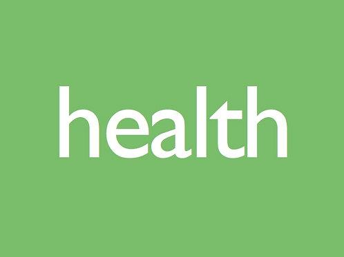 Health Magazine Sponsored Post