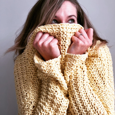 JUMPER FOR JOY! 'Enthusiasm is now hotting up for 'jumper season', and all that it represents'