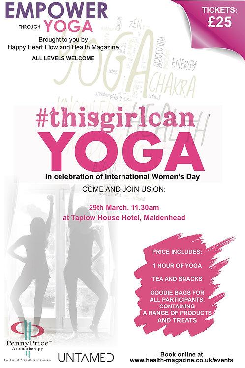 #thisgirlcan Yoga