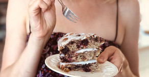 LAYER CAKE: With blackberry picking season now underway...it's fruit cake for the win!