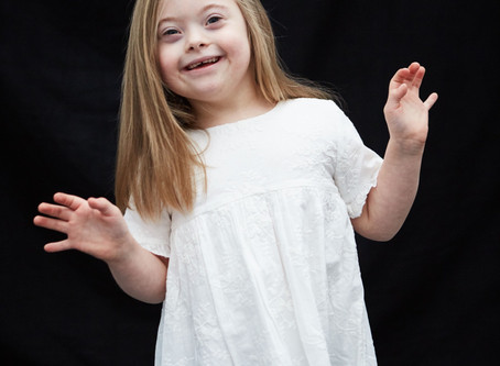 'We choose to see her disability as a positive and marvel at her ability to learn and thrive in