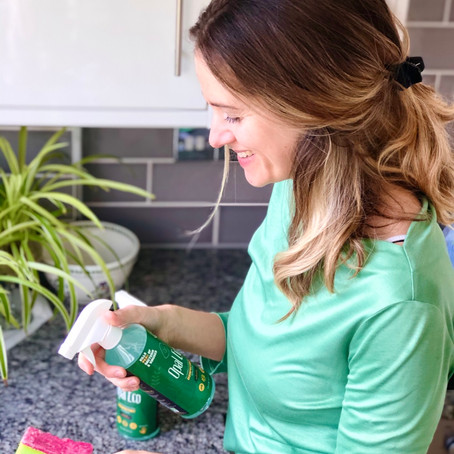 'Regular household cleaning can up our exposure to the myriad of chemicals found in these products'