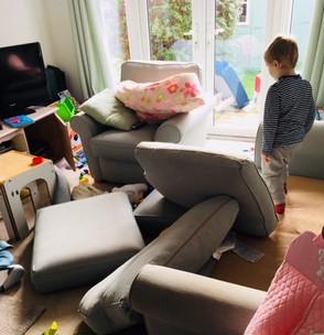Toddler vs. home