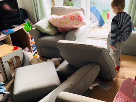Toddler vs. home