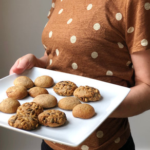 NEW RECIPE: WHOLEMEAL ROLO COOKIES