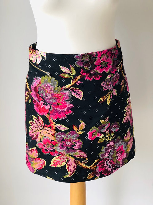 Almost Famous Floral Skirt