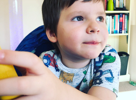 'As soon as I read up about autism, I knew that's what we were looking at with Theo'
