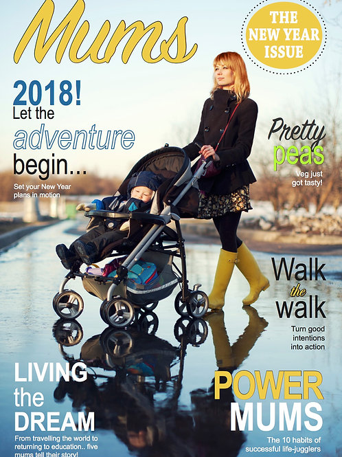 New Year issue of Mums Magazine