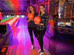 Snow Day, Bowling Day! The Townsend Twins discover the perfect way to swerve the cold AND keep the k
