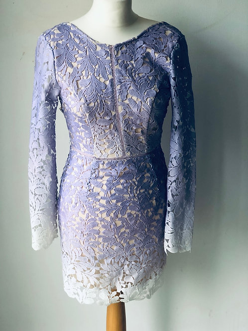 Purple lace dress by Hello Molly