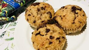 RECIPE:Wholemeal Dark Chocolate, Coconut & Banana Muffins