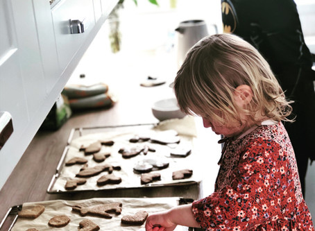BAKING WITH KIDS: 'This is one activity that it is worth embracing the mess and stress of'
