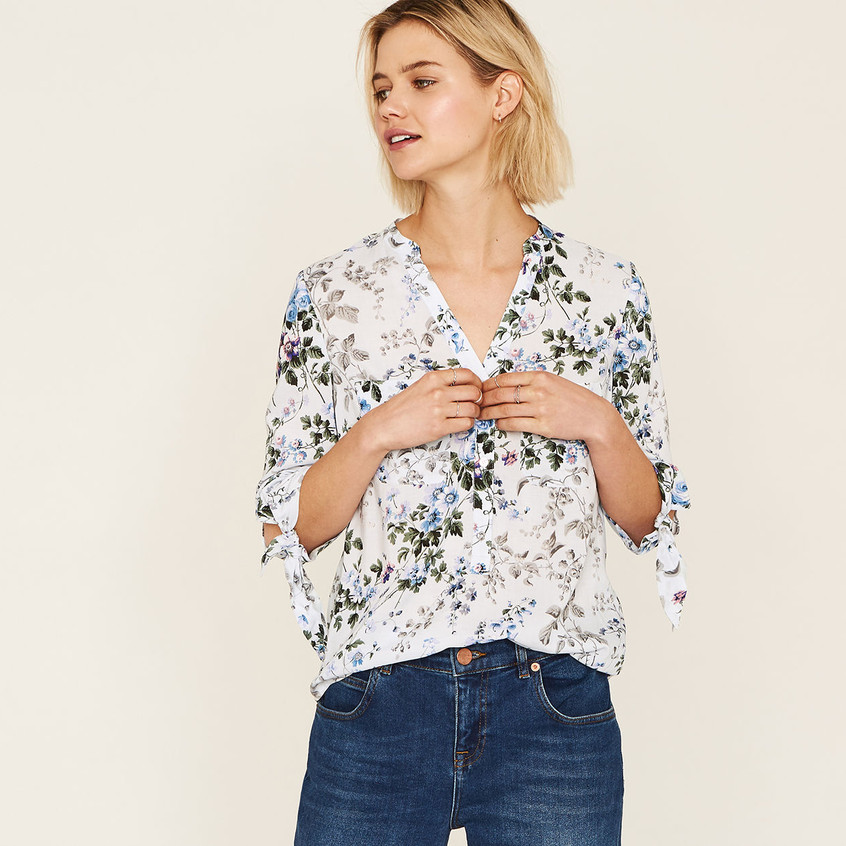 Provence Trailing Ditsy Shirt