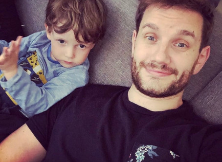 'Father's Day isa lovely reminder of the amazing experience of becoming a Dad'